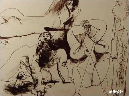 毕加索的作品高清图片